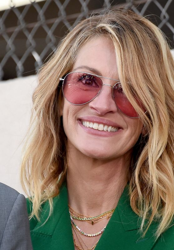 Julia Roberts - Hollywood Walk of Fame Event 03/29/2019