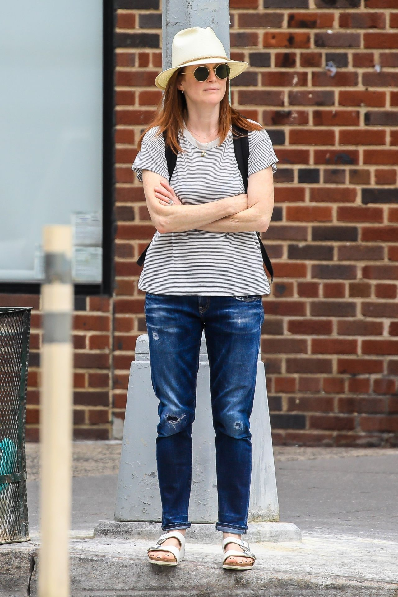 Julianne Moore Out In Nyc 07 13 2019