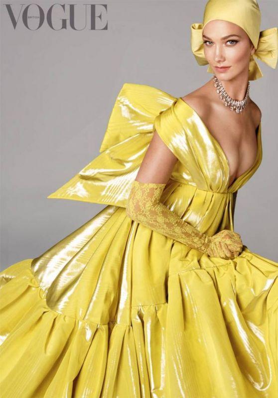 Karlie Kloss - Vogue Magazine UK August 2019
