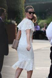 Kate Beckinsale - Arriving at Wimbledon in London 07/14/2019