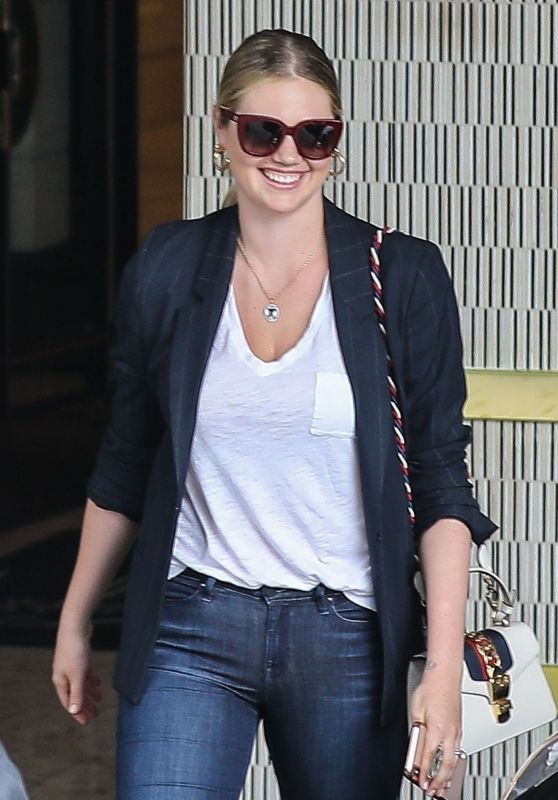 Kate Upton - London West Hollywood Hotel in Beverly Hills 07/26/2019