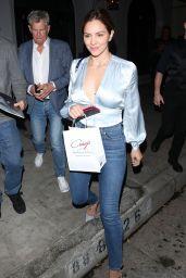 Katharine McPhee Night Out Style 07/22/2019