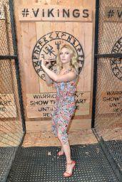 Katheryn Winnick - Vikings Battle Axe Training at SDCC 2019