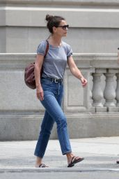 Katie Holmes - Out in NY 07/17/2019