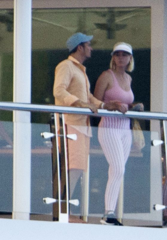 Katy Perry and Orlando Bloom - Vacation in Spain 07/26/2019