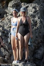 Katy Perry in a Swimsuit - Enjoying Holiday in Mallorca 07/24/2019