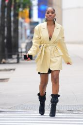 Keke Palmer Street Fashion - NYC 07/08/2019