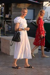 Kelly Rutherford in Summer Dress - Saint-Tropez 07/08/2019
