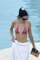 Kendall Jenner in a Bikini 07/27/2019