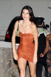 Kendall Jenner Night Out - Mykonos Island 07/09/2019