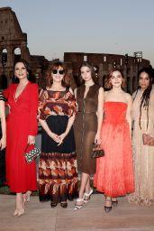 Kiernan Shipka - Cocktail and Fendi Couture Fall Winter 2019-2020 in Rome 07/04/2019