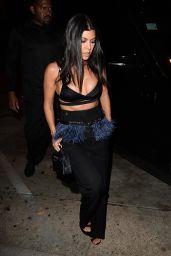 Kourtney Kardashian Night Out Style 07/10/2019