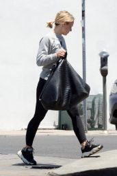 Kristen Bell at the Gym in Studio City 07/24/2019