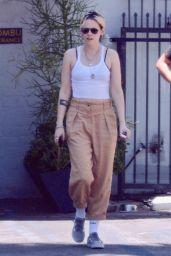 Kristen Stewart - Out for Lunch in LA 07/01/2019