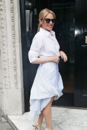 Kylie Minogue - Arrives at Kiss FM in London 07/09/2019