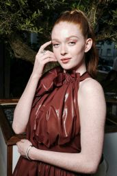 "Larsen Thompson - Carine Roitfeld Parfums ""7 Lovers"" Cocktail Party in Paris"