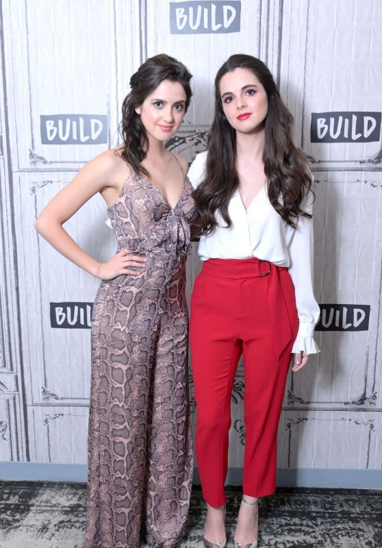 Laura Marano and Vanessa Marano - BUILD Studio in NYC 07/09/2019