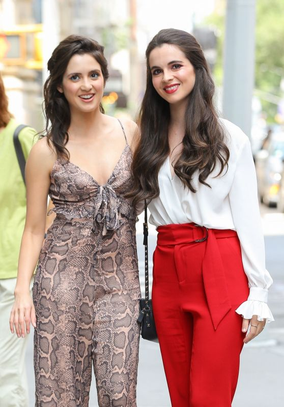 Laura Marano and Vanessa Marano - Out in NY 07/09/2019