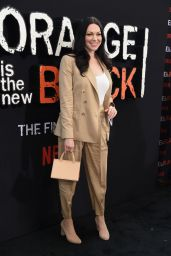 "Laura Prepon - ""Orange Is The New Black"" Final Season World Premiere in NYC 07/25/2019"