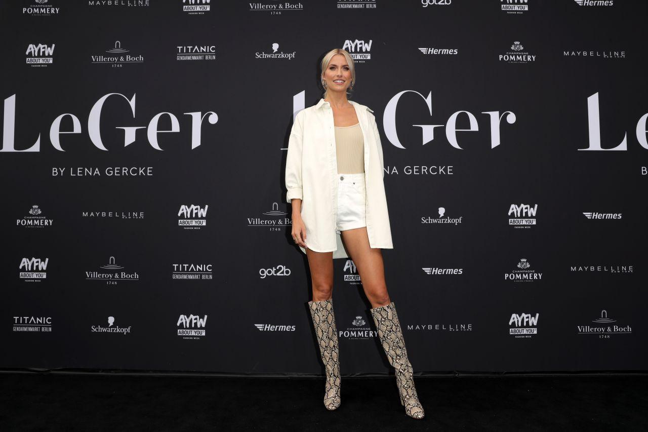Lena Gercke Leger By Lena Gercke At The Fashion Week