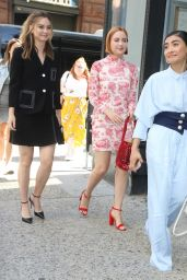 Liana Liberato, Haley Ramm and Brianne Tju - Arriving at BUILD Series in NYC 07/15/2019
