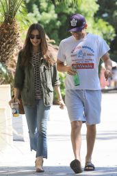 Lily Collins at Celeb Hotspot Alfred