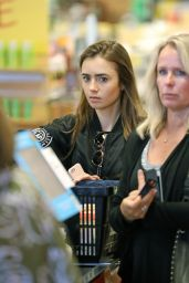 Lily Collins - Shopping in Los Angeles 07/09/2019