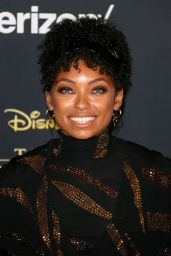 "Logan Browning – ""The Lion King"" Premiere in Hollywood"