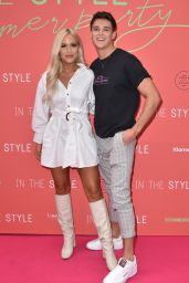 Lottie Tomlinson – In The Style Summer Party in London 07/25/2019