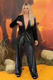 "Louisa Johnson - ""The Lion King"" Premiere in London"