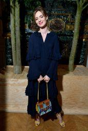 Louise Bourgoin – Valentino Show in Paris 07/03/2019