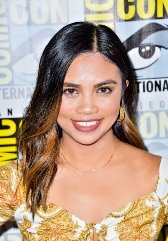 "Louriza Tronco - ""The Order"" Photocall at SDCC 2019"