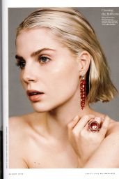 Lucy Boynton - Vanity Fair On Jewellery August 2019 Issue
