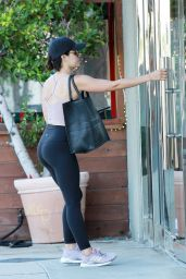 Lucy Hale - Heading to the Gym in Studio City 07/18/2019