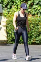 Lucy Hale in Leggings 07/30/2019