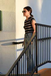 Lucy Hale - Picking up Elvis in LA 07/12/2019