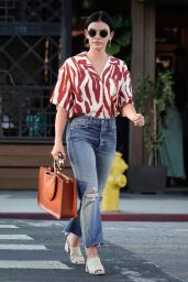 Lucy Hale Street Style 07/13/2019