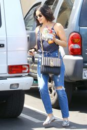 Lucy Hale Street Style 07/29/2019