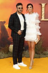 """Lucy Mecklenburgh – """"The Lion King"""" European Premiere in London"""