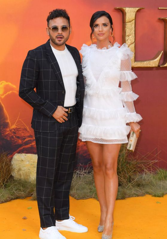 "Lucy Mecklenburgh – ""The Lion King"" European Premiere in London"