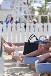 Maggie Q - Loulou Beach Club in St. Tropez 07/17/2019