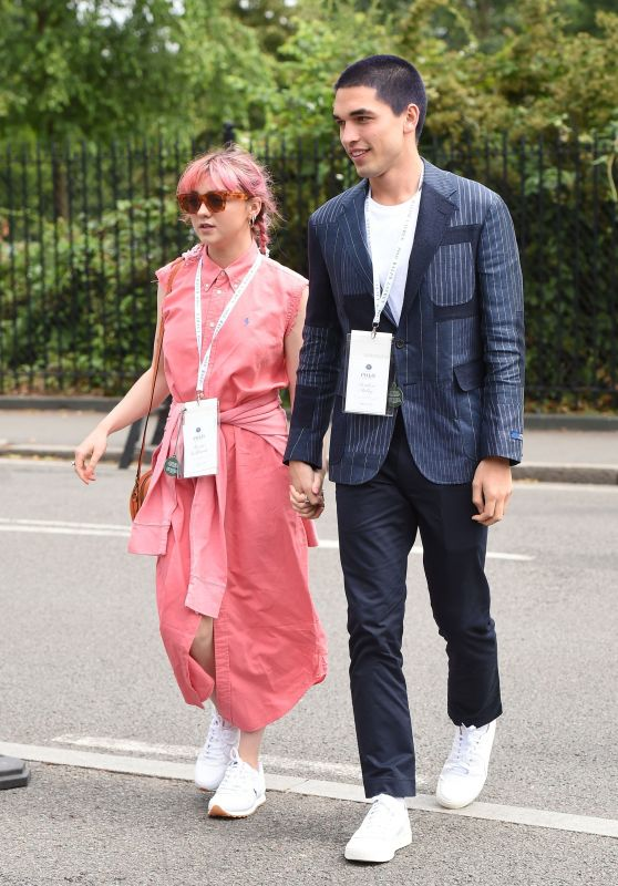 Maisie Williams - 2019 Wimbledon Tennis Championships 07/08/2019