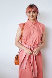 Maisie Williams - Portraits at the Polo Ralph Lauren Suite at Wimbledon, July 2019
