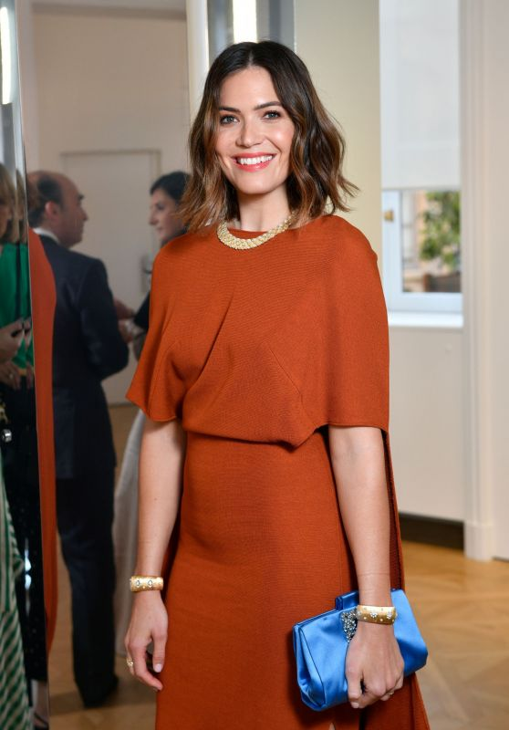 Mandy Moore - NET-A-PORTER Cocktail to Celebrate a Collection of High Jewelry 07/03/2019