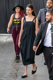Margaret Qualley - Visits Jimmy Kimmel Live! in Hollywood 07/24/2019