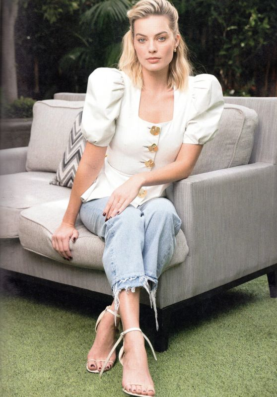 Margot Robbie - Psychologies Magazine August 2019 Issue