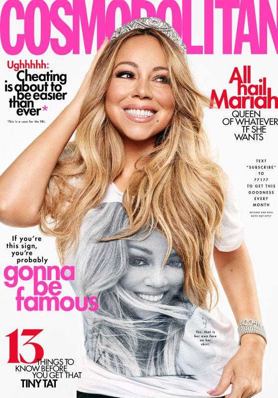 Mariah Carey - Cosmopolitan Magazine August 2019 Issye