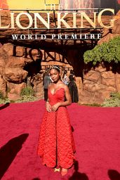 """Marsai Martin – """"The Lion King"""" Premiere in Hollywood"""