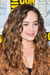 """Mary Mouser - """"Cobra Kai : Past, Present and Future"""" Panel at SDCC 2019"""