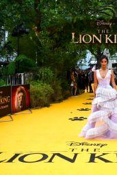 "Maya Jama – ""The Lion King"" Premiere in London"